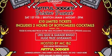 The Artful Dodger Brixton Brunch - Sat 1st Feb tickets