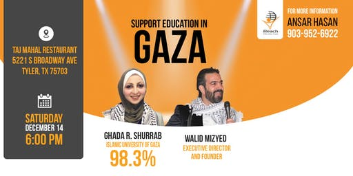 Tyler, TX: Support Education in Gaza with Reach Education Fund