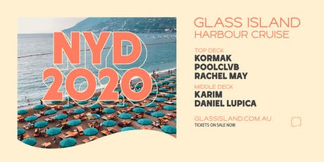 Glass Island - New Years Day Cruise feat. Kormak + Poolclvb tickets