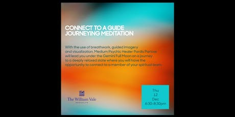 "Gemini Full Moon ""Connect to a Guide"" Journeying Event with Pardis Partow, Dec. 12 tickets"