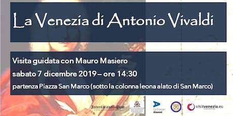 Venezia e Musica: i luoghi di Antonio Vivaldi entradas