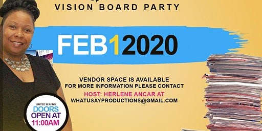 L.A.S.E.R. Focus 2020 Vision Board Party