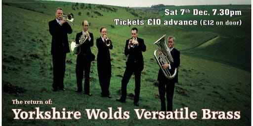 Yorkshire Wolds Versatile Brass - Festive Concert