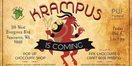 Krampus is Coming: Fine Chocolate & Beer Pairing
