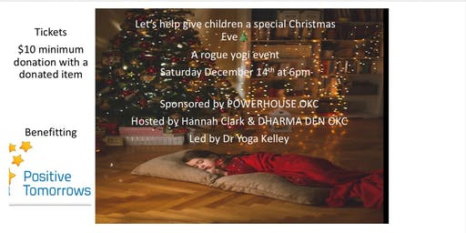 Twas the Yoga Before Christmas benefit event