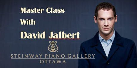 Steinway Presents: Piano Master Class with David Jalbert tickets