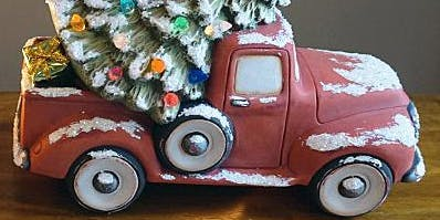 Paint Your Own Christmas Truck