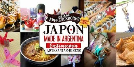 Feria de Emprendedores-Japón Made in Argentina! entradas