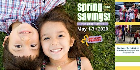 JBF Spring Twin Cities NE Metro 2020 Consignor Reservation  tickets