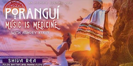 An Intimate Evening with Poranguí: Music is Medicine tickets