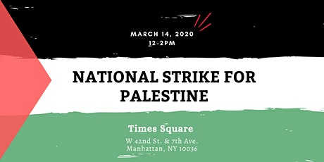 National Strike for Palestine tickets
