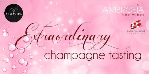 Extraordinary Champagne Tasting