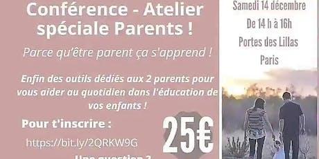 CONFÉRENCE/ATELIER PARENT billets