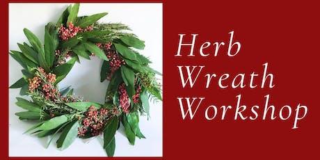 Culinary Wreath Workshop tickets