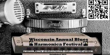 Wisconsin Annual Blues Harmonica Festival 2020 tickets