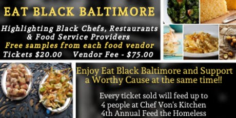 Eat Black Baltimore tickets