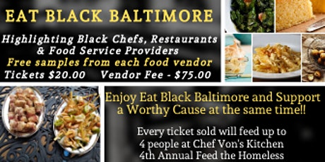 Eat Black Baltimore tickets
