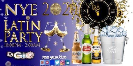 LATIN NEW YEARS EVE PARTY 2020 tickets