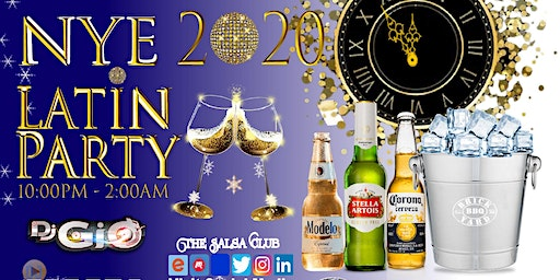 LATIN NEW YEARS EVE PARTY 2020