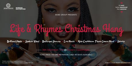 """BOBE GROUP Presents .... """"Life & Rhymes"""" tickets"""