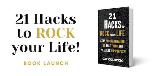 21 Hacks Book Launch!