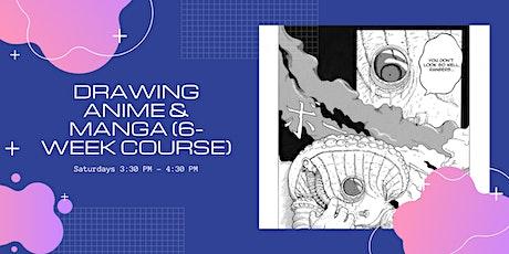 Drawing Anime & Manga (6-Week Course) tickets