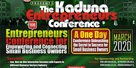 The Kaduna Entrepreneurs Conference tickets