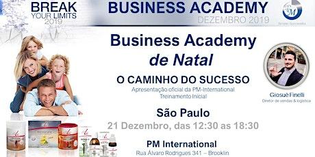 Business Academy  de Natal ingressos
