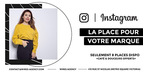 Instagram : la bonne place pour votre marque ! tickets