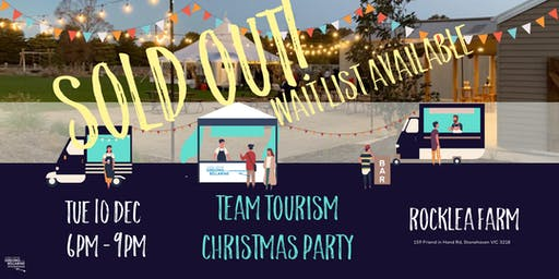 Team Tourism - Industry Christmas Party 2019
