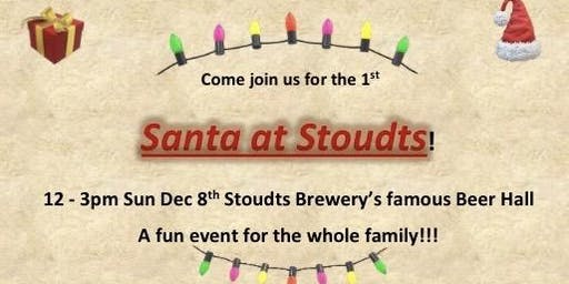 Santa at Stoudts