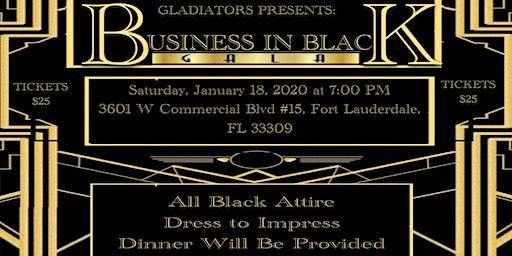 Business In Black Gala