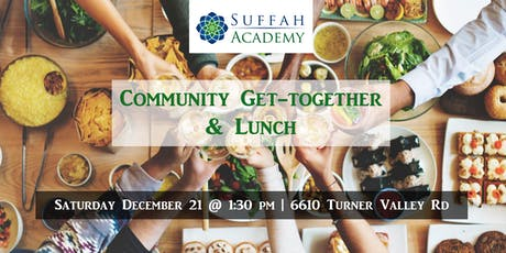 Suffah Academy Community Get-Together & Lunch tickets
