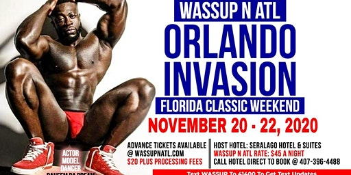 WASSUP N ATL INVASION FLORIDA CLASSIC WEEKEND 2020