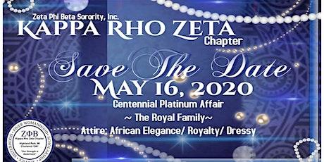 Platinum Centennial Royal Family Affair tickets