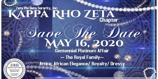 Platinum Centennial Royal Family Affair