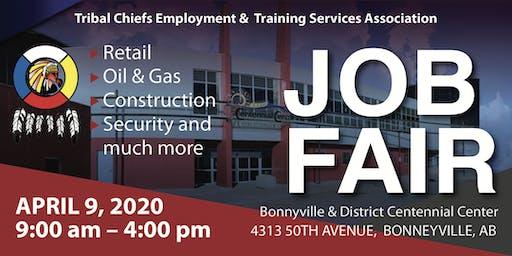 Tribal Chiefs Employment and Training Services Association Job Fair