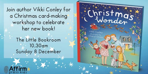 Christmas Wonder: Story time with colouring activities with Vikki Conley