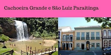 Cachoeira Grande e São Luiz do Paraitinga ingressos