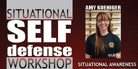 Situational Self-Defense with Amy Koeniger and Contre-Fitness