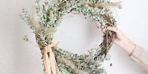 The Holiday Pop Up: Wreath Workshop #2