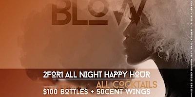 #MondaysBlow at Lavoo Lounge | BOGO Happy Hour Dri