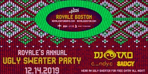 Royale's Annual Ugly Sweater Party ft. DJ Tao |...