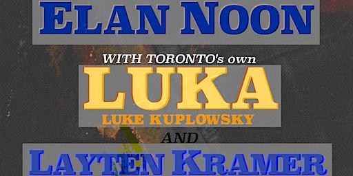 Layten Kramer // LUKA (Toronto, ON) // Elan Noon ~ Live at Vinyl Envy