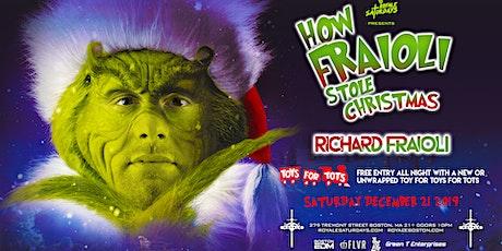 Richard Fraioli Stole Christmas ft. Richard Fraioli | 12.21.19 | 10:00 PM | 21+ tickets