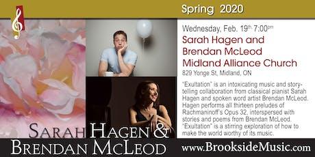 Sarah Hagen & Brendan McLeod tickets