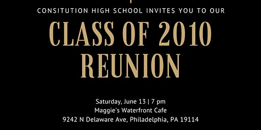 Constitution High School 2010 Reunion
