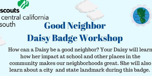 Good Neighbor - Daisy Badge - Hanford