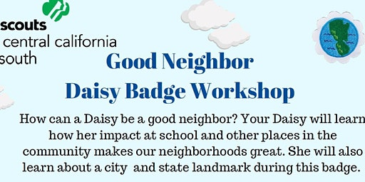 Good Neighbor - Daisy Badge - Hanford