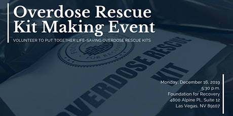 Overdose Rescue Kit Making Event tickets